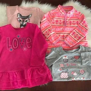 Other - 4t long sleeved lot